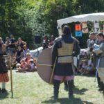 Combat à l'ancienne organisé par le comité des fêtes de Peyroules