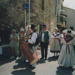 Procession Ste Anne 2004 du comité des fêtes de Peyroules