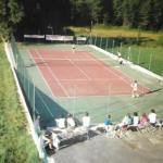 Concours de tennis à Peyroules